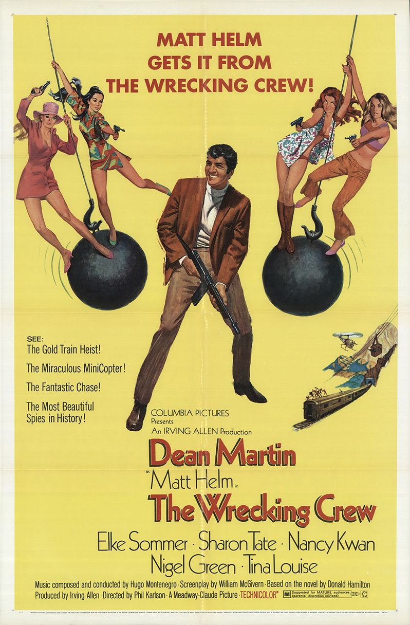 Image result for the wrecking crew movie