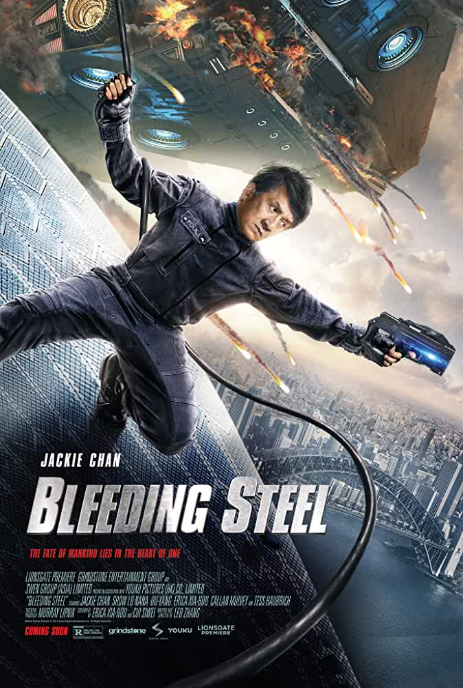 Bleeding Steel (2017) 720P UNRATED BluRay Dual  Dual Audio Hindi ORG Eng