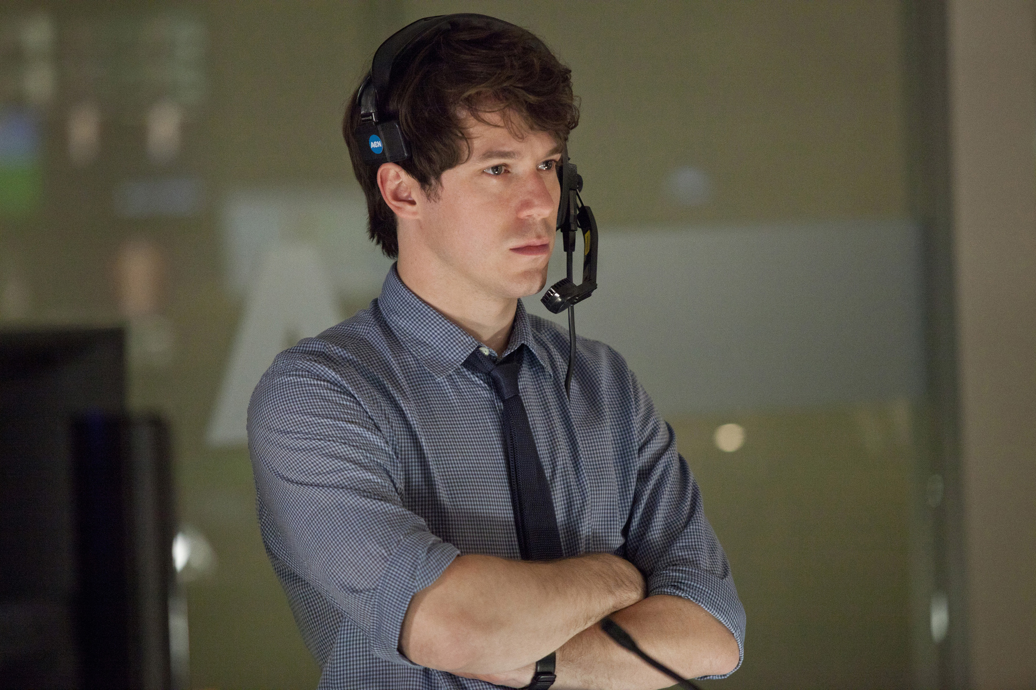 John Gallagher Jr. in The Newsroom (2012)