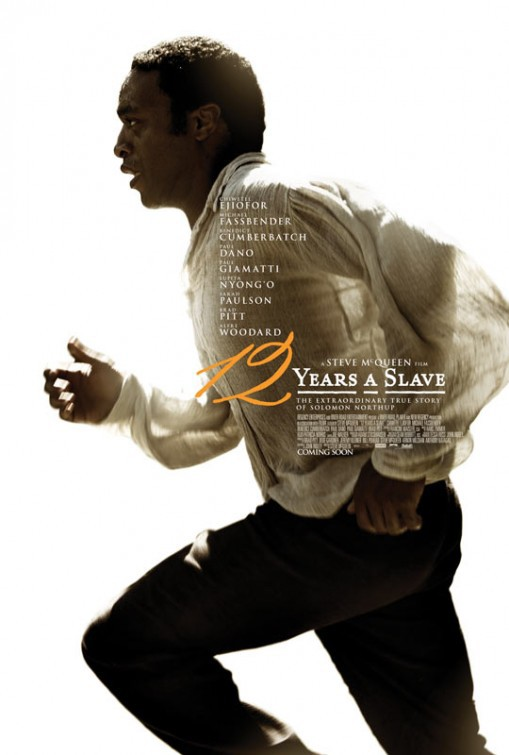Image result for 12 years of slave movie poster
