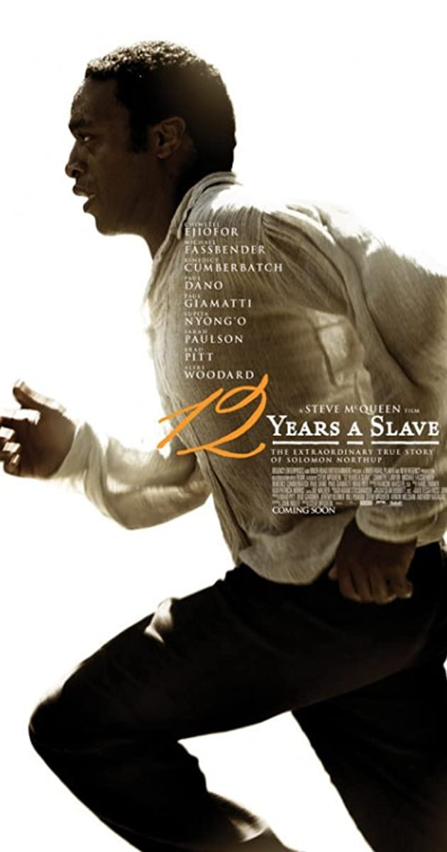 Subtitle of 12 Years a Slave