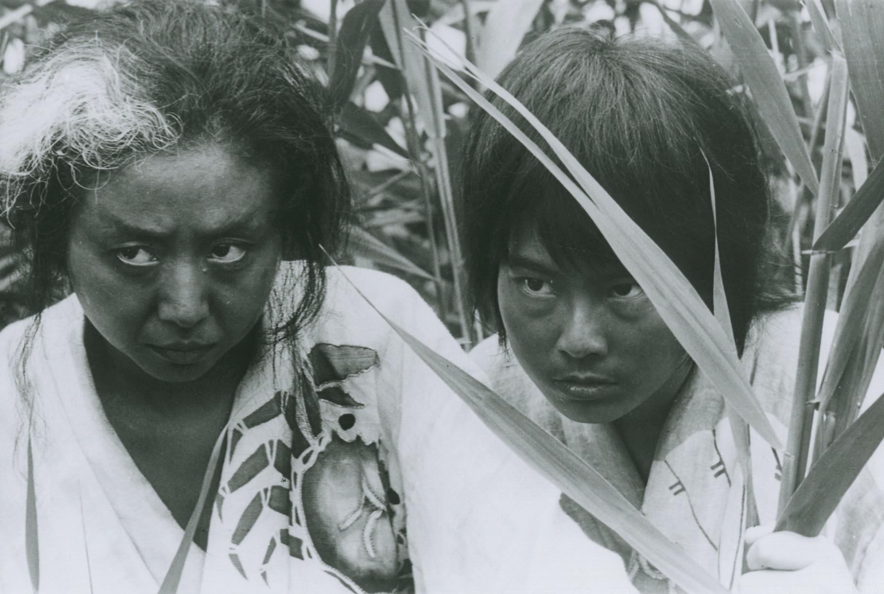 Nobuko Otowa and Jitsuko Yoshimura in Onibaba (1964)
