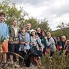 Lionel Abelanski, Guillaume de Tonquédec, Franck Dubosc, Sophie Duez, Lambert Wilson, Florence Foresti, and Jérôme Commandeur in Barbecue (2014)
