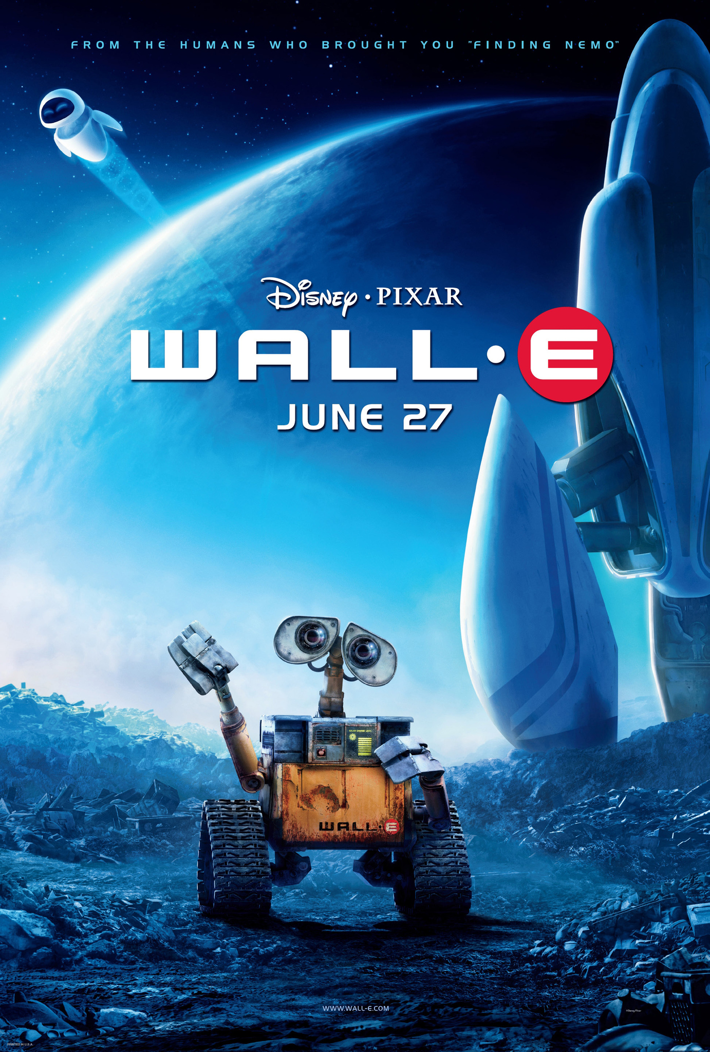 Image result for Wall-E movie poster