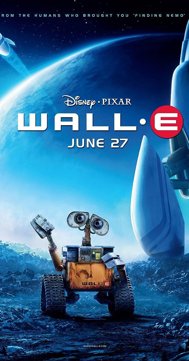 WALL-E. Šiukšlių princo istorija / WALL-E (2008)