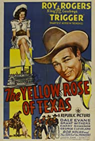 Roy Rogers and Dale Evans in The Yellow Rose of Texas (1944)