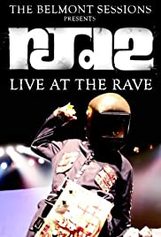RJD2: Live at the Rave Poster