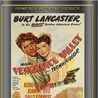 Burt Lancaster, Joanne Dru, and Robert Walker in Vengeance Valley (1951)