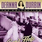 Deanna Durbin and Robert Paige in Can't Help Singing (1944)