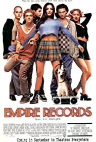 Liv Tyler, Renée Zellweger, Robin Tunney, Rory Cochrane, Ethan Embry, and Johnny Whitworth in Empire Records (1995)