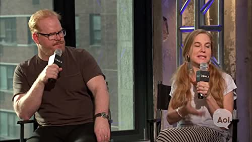 "Jim Gaffigan and Jeannie Gaffigan on ""The Gaffigan Show"""