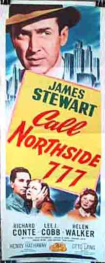 James Stewart, Richard Conte, and Helen Walker in Call Northside 777 (1948)