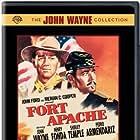 Henry Fonda and John Wayne in Fort Apache (1948)