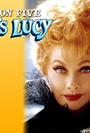 Lucy and Joe Namath Poster