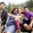 Ranbir Kapoor, Deepika Padukone, Aditya Roy Kapoor, and Kalki Koechlin in Yeh Jawaani Hai Deewani (2013)