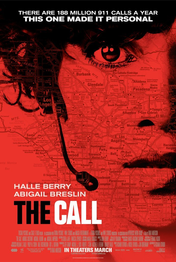 Poster film The Call (2013).