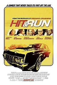 Tom Arnold, Kristen Bell, Kristin Chenoweth, Bradley Cooper, and Dax Shepard in Hit and Run (2012)