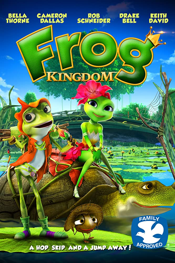 Frog Kingdom (2013) Dual Audio 720p BrRip 880MB