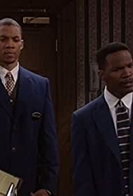 Jamie Foxx and Christopher B. Duncan in The Jamie Foxx Show (1996)