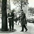 Jean-Paul Belmondo and Lino Ventura in Classe tous risques (1960)