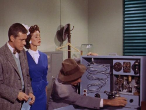 Jack Larson, Noel Neill, and Phil Tead in Adventures of Superman (1952)