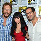 Jay Firestone, Kris Holden-Ried, and Ksenia Solo at an event for Lost Girl (2010)