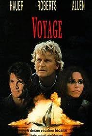 Karen Allen, Rutger Hauer, and Eric Roberts in Voyage (1993)