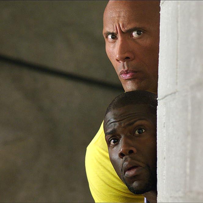 Kevin Hart and Dwayne Johnson in Una spia e mezzo (2016)