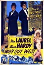 Way Out West (1937) Poster