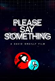 Please Say Something Poster