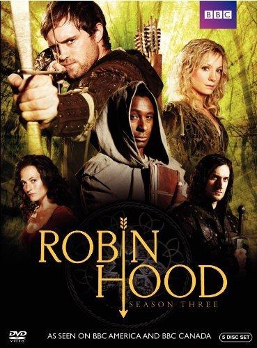 Richard Armitage, Joanne Froggatt, David Harewood, Jonas Armstrong, and Lara Pulver in Robin Hood (2006)