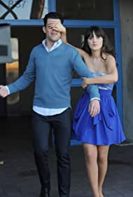 Zooey Deschanel and Max Greenfield in New Girl (2011)