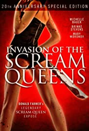 Invasion of the Scream Queens Poster
