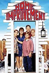 Tim Allen, Jonathan Taylor Thomas, Patricia Richardson, Zachery Ty Bryan, Earl Hindman, and Taran Noah Smith in Home Improvement (1991)