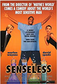 David Spade, Marlon Wayans, and Tamara Taylor in Senseless (1998)
