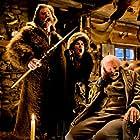 Jennifer Jason Leigh, Kurt Russell, and Bruce Dern in The Hateful Eight (2015)