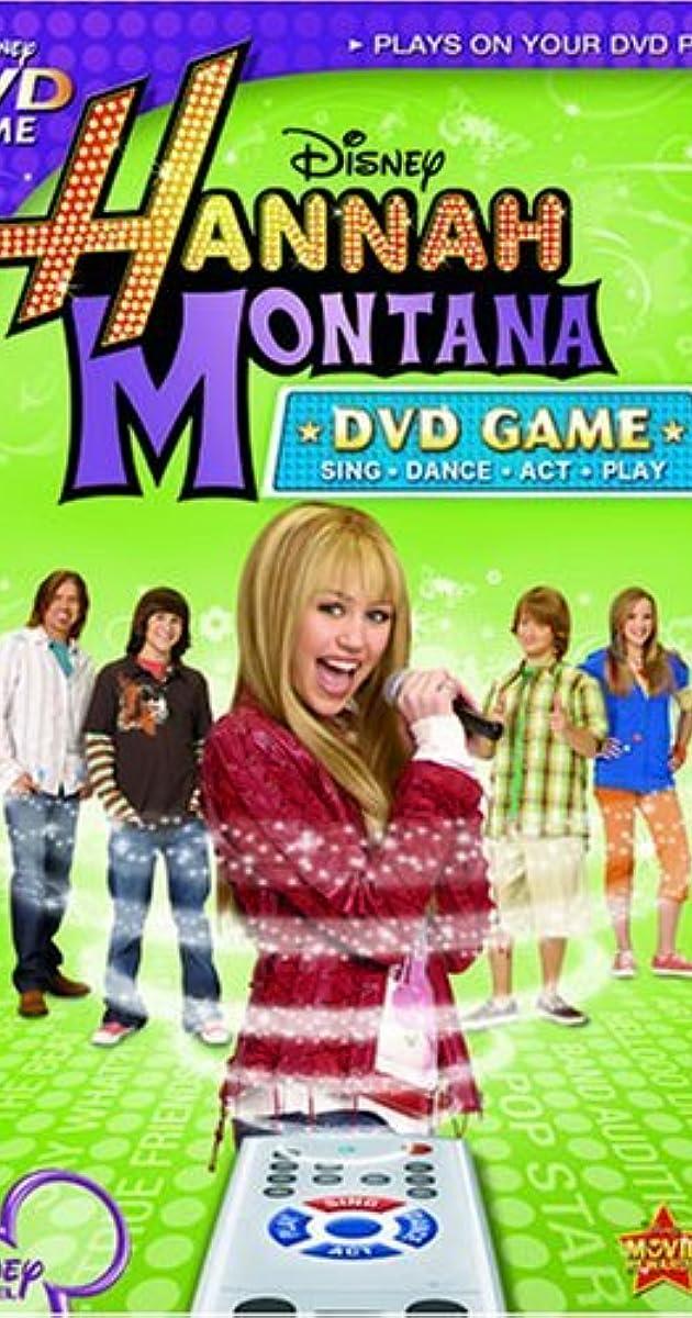 hannah montana dvd game  video game 2007