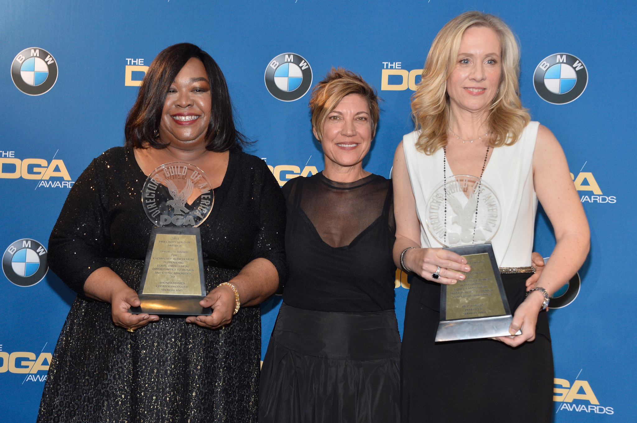 Betsy Beers, Allison Liddi-Brown, and Shonda Rhimes