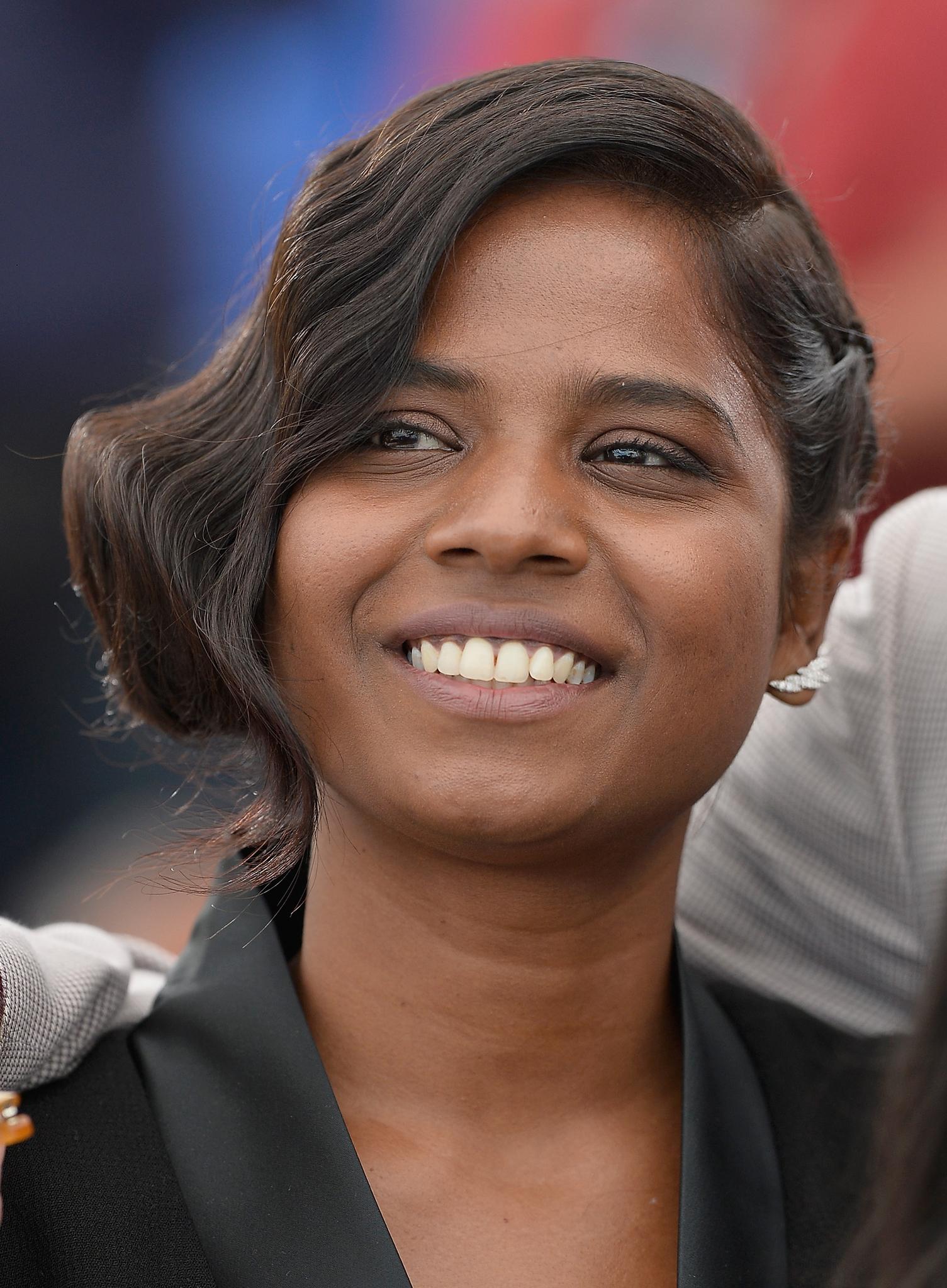 Kalieaswari Srinivasan at an event for Dheepan (2015)