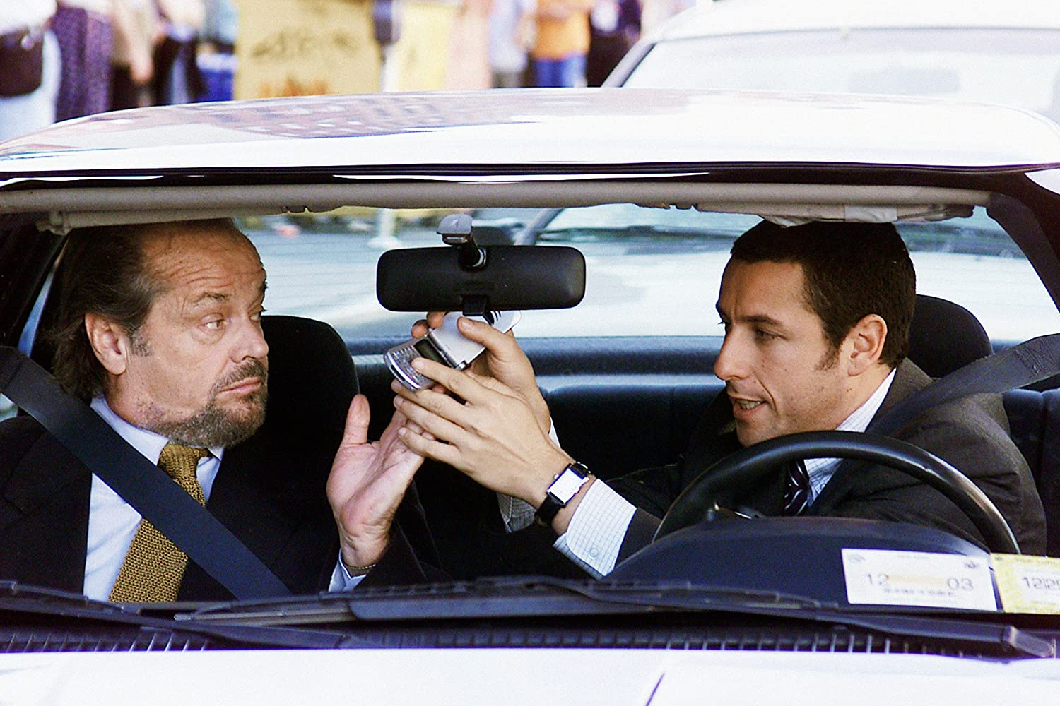 Jack Nicholson and Adam Sandler in Anger Management (2003)
