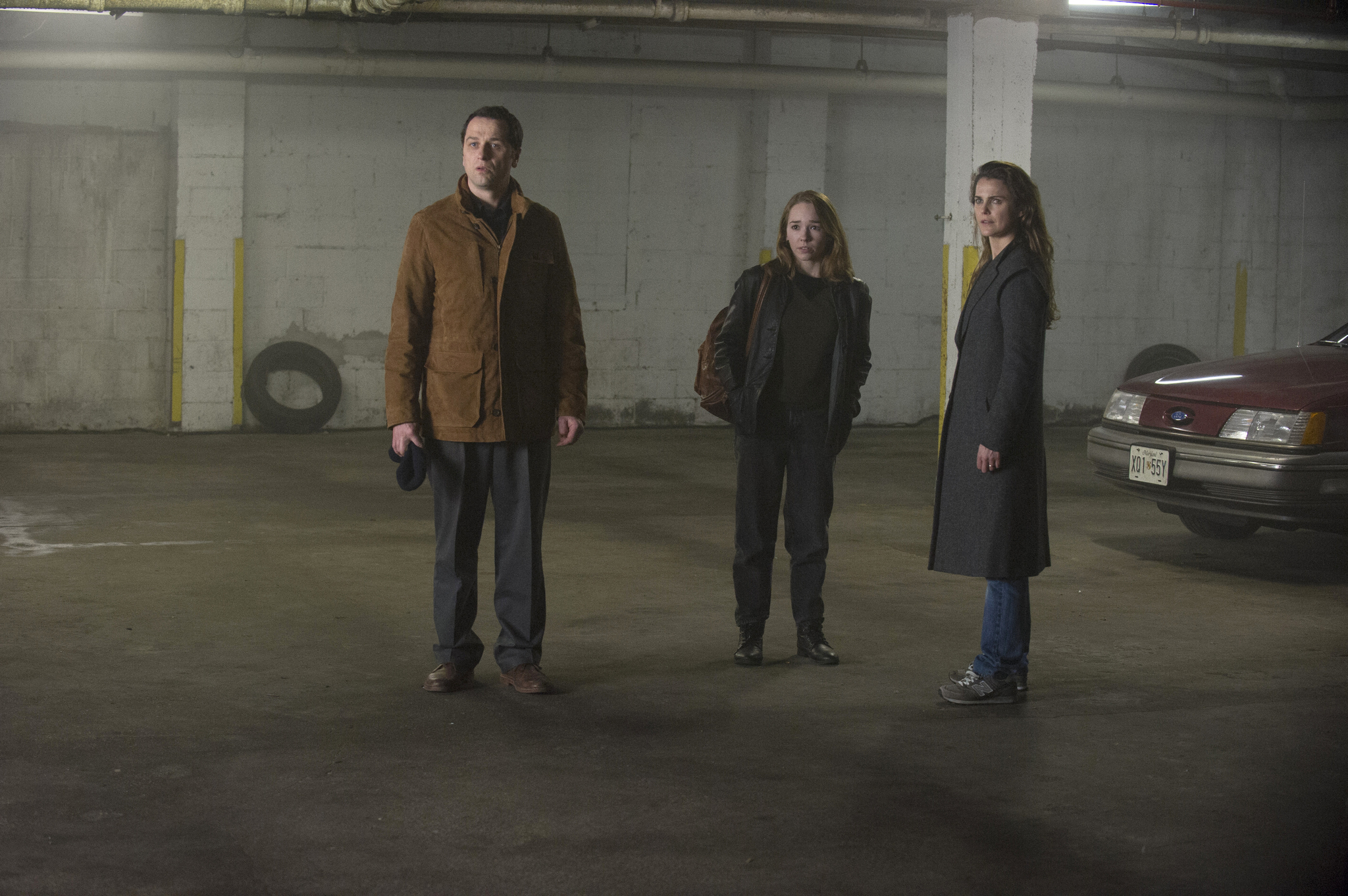 Keri Russell, Matthew Rhys, and Holly Taylor in The Americans (2013)