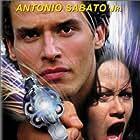 Antonio Sabato Jr. and Shannon Lee in High Voltage (1997)