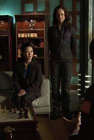 Robert Picardo, Tamlyn Tomita, and Anna Galvin in Stargate: Atlantis (2004)