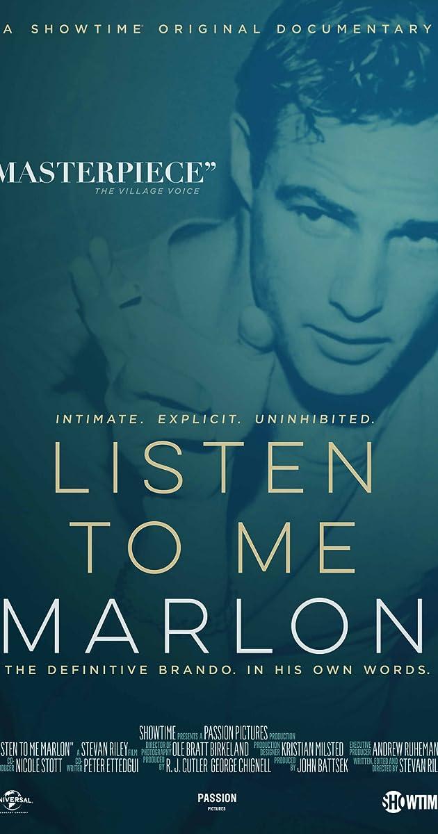 Subtitle of Listen to Me Marlon