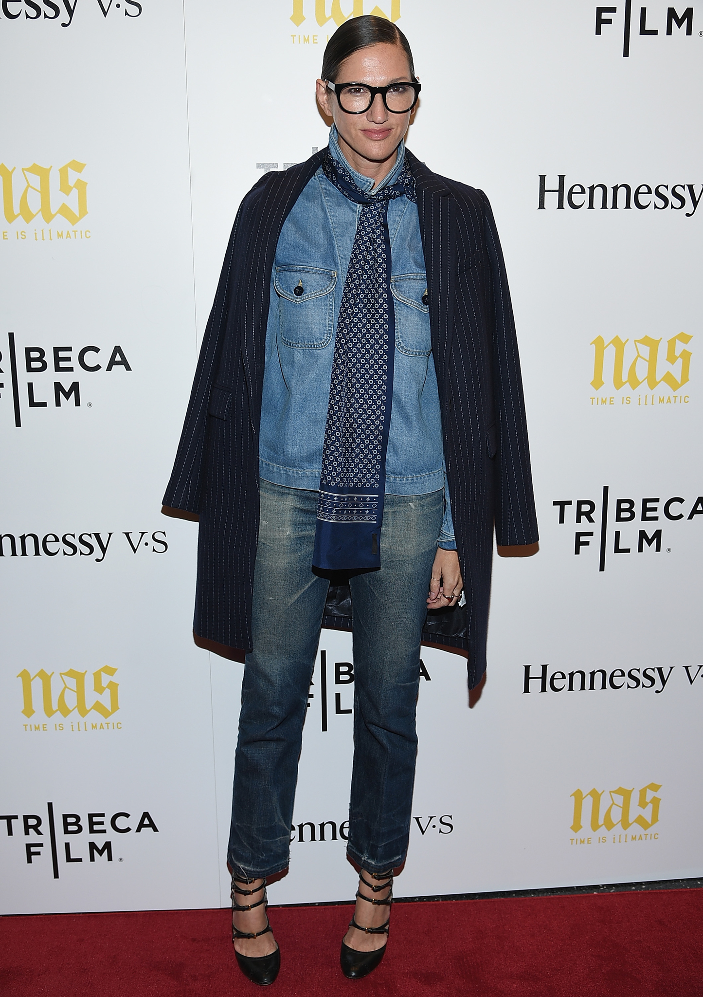 Jenna Lyons at an event for Time Is Illmatic (2014)