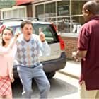 Martin Lawrence, Donny Osmond, and Molly Ephraim in College Road Trip (2008)