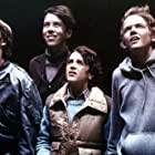 C. Thomas Howell, Sean Frye, Robert MacNaughton, and K.C. Martel in E.T. the Extra-Terrestrial (1982)