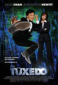 Jackie Chan and Jennifer Love Hewitt in The Tuxedo (2002)