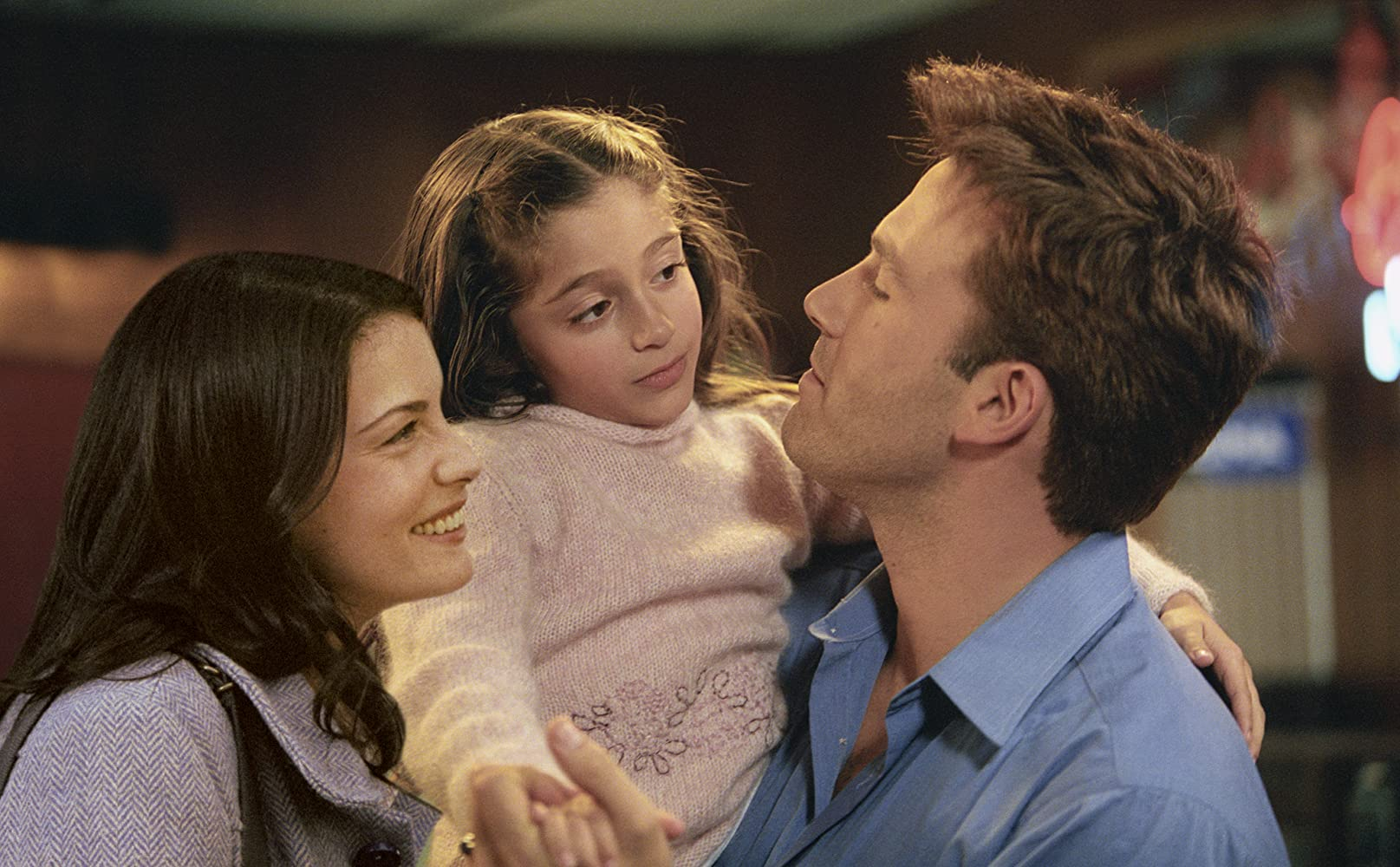 Liv Tyler, Ben Affleck, and Raquel Castro in Jersey Girl (2004)