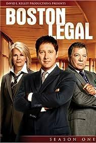 Candice Bergen, William Shatner, and James Spader in Boston Legal (2004)